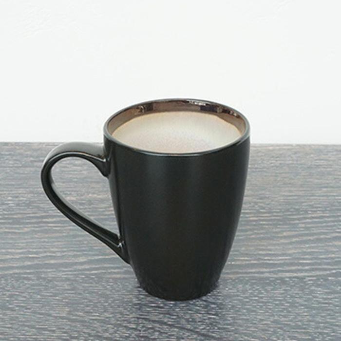 CANO セラムマグカップ ブラック&ホワイト