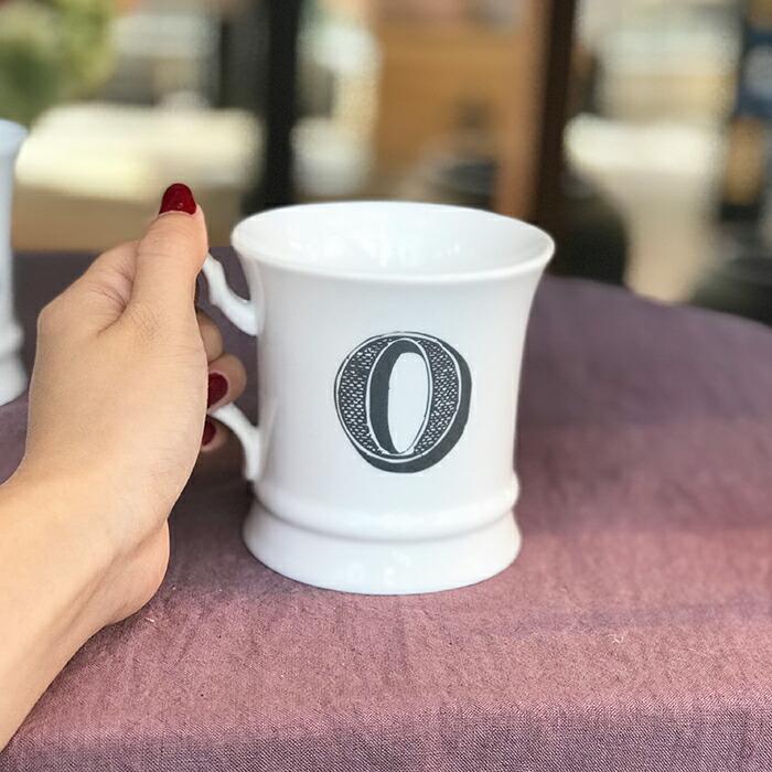 コーヒーカップ イニシャル入り I05