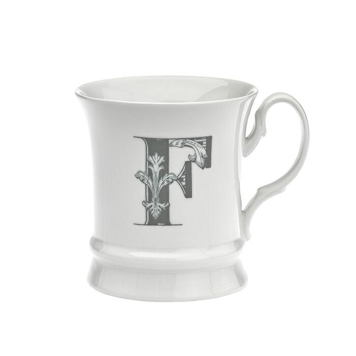 コーヒーカップ イニシャル入り F