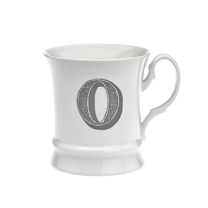 コーヒーカップ イニシャル入り O