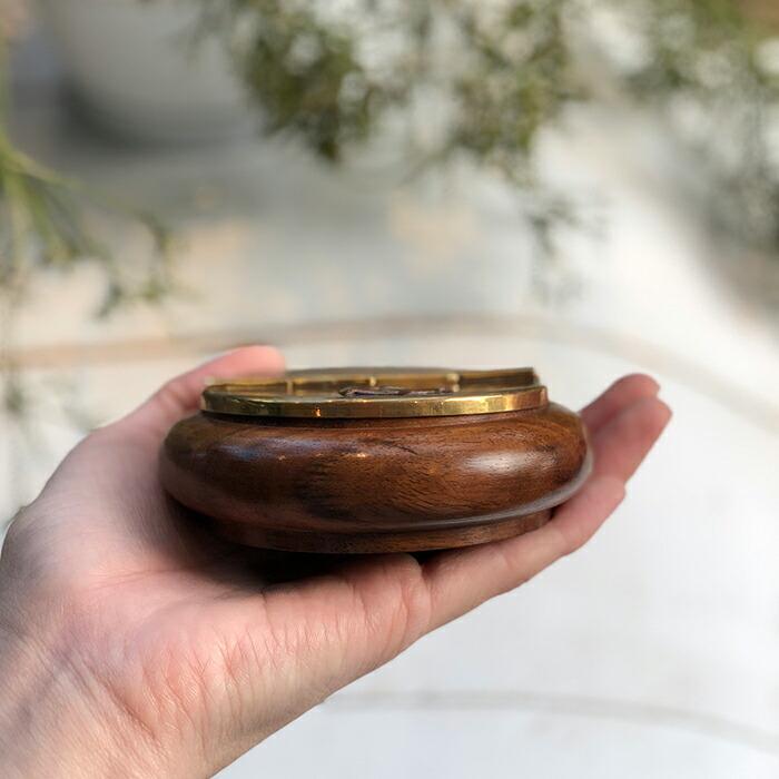 灰皿 ゴールド 木製枠06