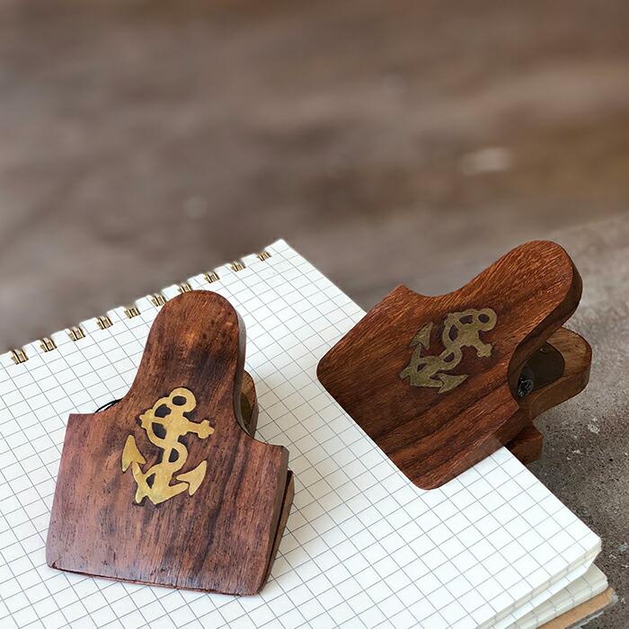 木製クリップ
