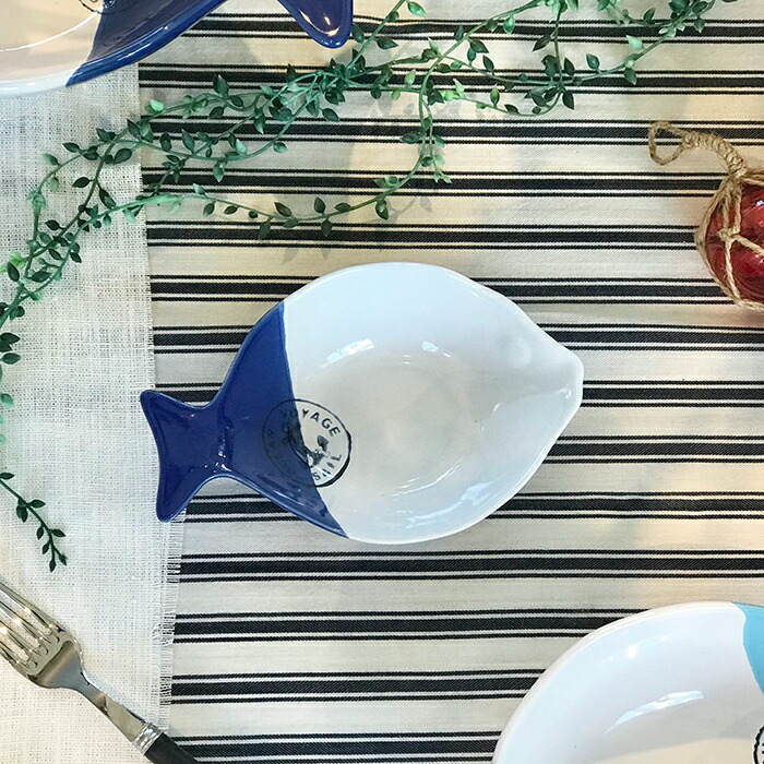 魚型プレート ブルー Mサイズ02