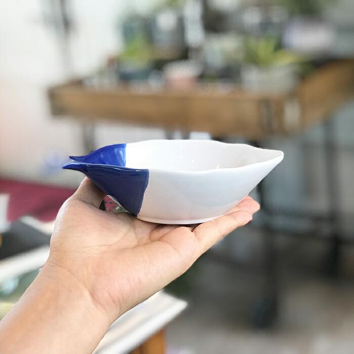 魚型プレート ブルー Mサイズ04