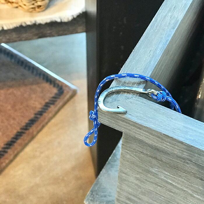 フックブレスレット ブルー05
