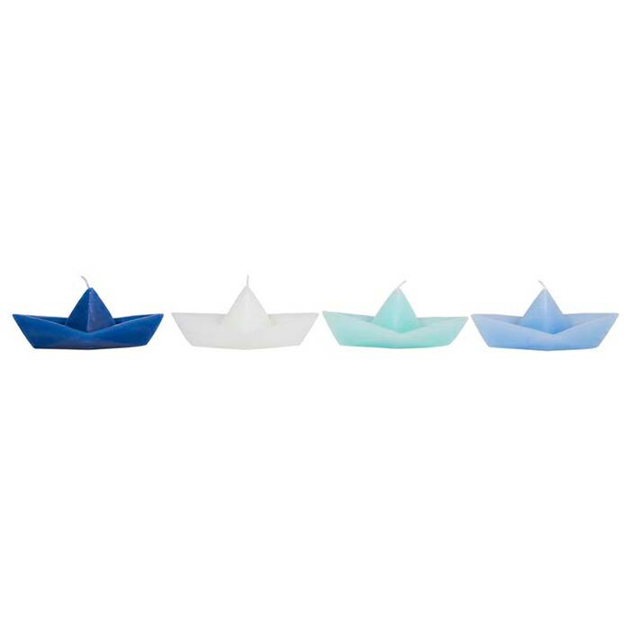 ボートキャンドル M/グリーン01