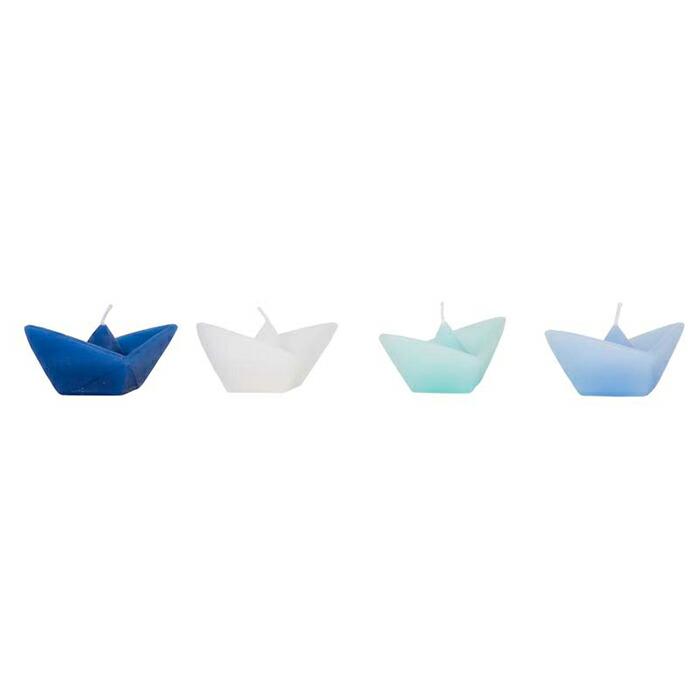 ボートキャンドル Sサイズ / ライトブルー01