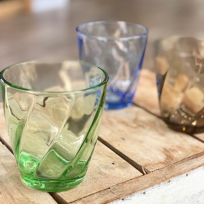 RUGIADA グラスコップ グリーン01