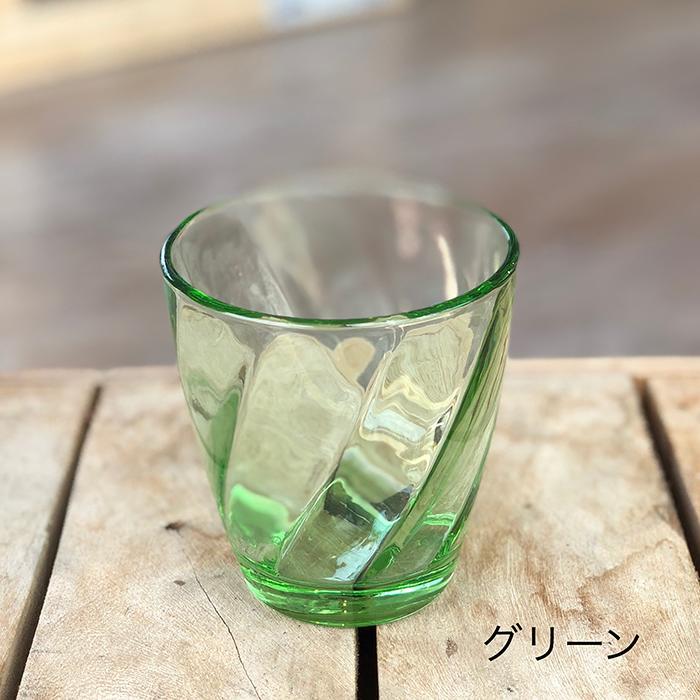 RUGIADA グラスコップ グリーン03