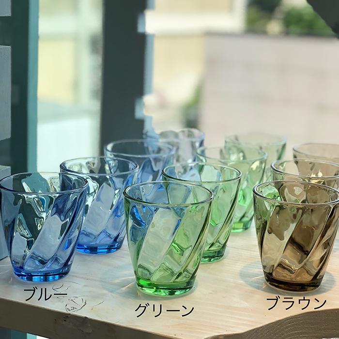 RUGIADA グラスコップ グリーン09