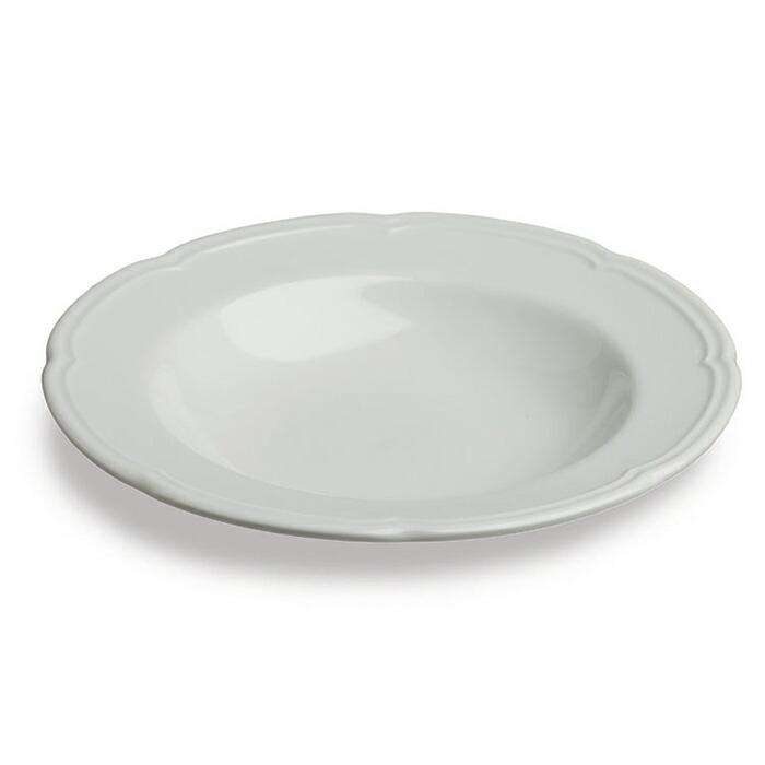 OUVERTUR スーププレート ホワイト Mサイズ