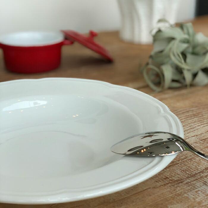 OUVERTUR スーププレート ホワイト Sサイズ03