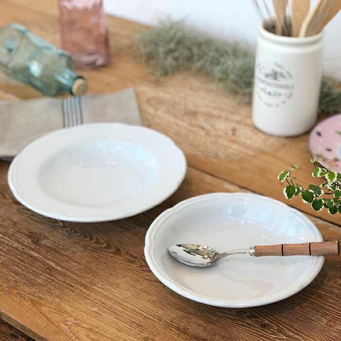 OUVERTUR スーププレート ホワイト Sサイズ05