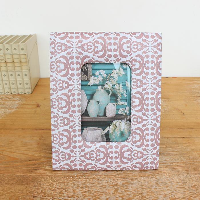 フォトフレーム 陶器 Liflessi / ピンク01