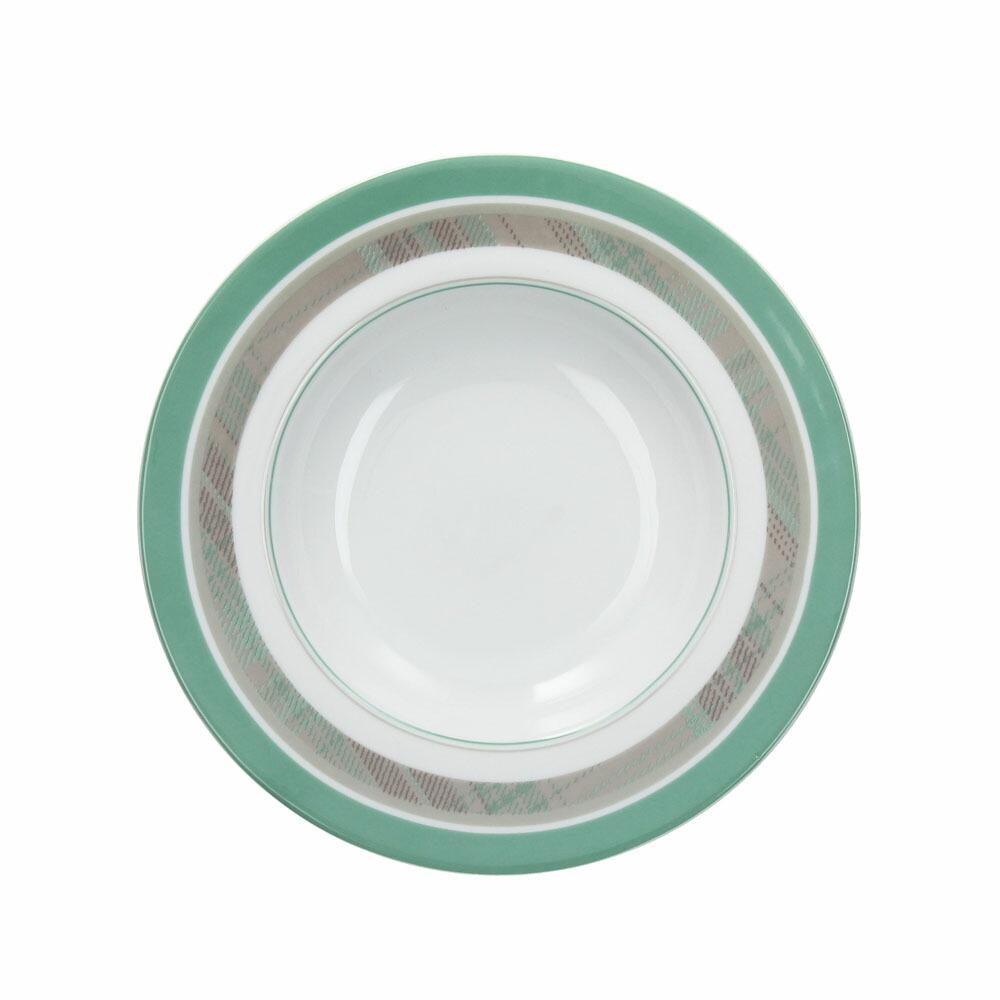 ARENA スーププレート/グリーン グリーン