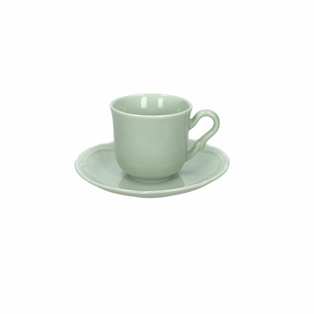 FAVOLA カップ&ソーサー グリーン08