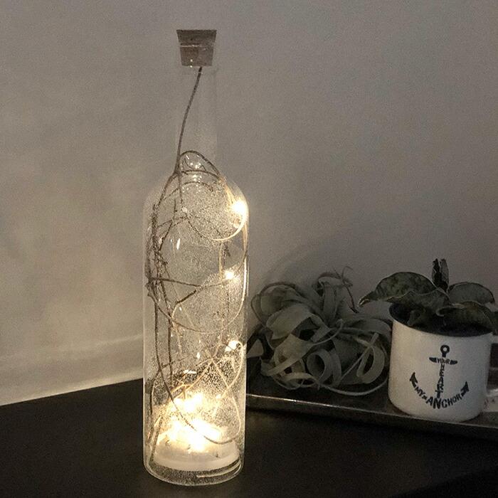 CHRISTMAS ライトボトル/ホワイト05