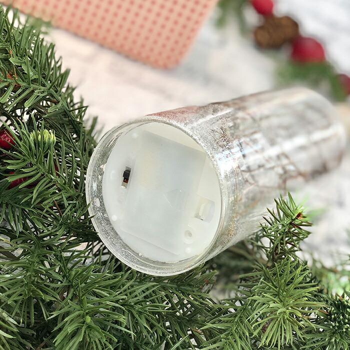 CHRISTMAS ライトボトル/ホワイト07