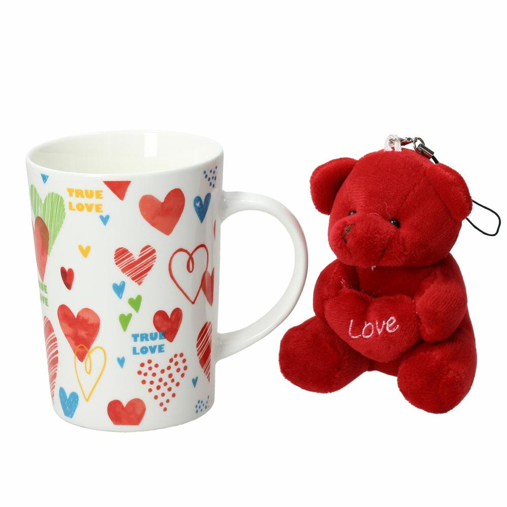 FLIRT マグカップ&ベア レッド05