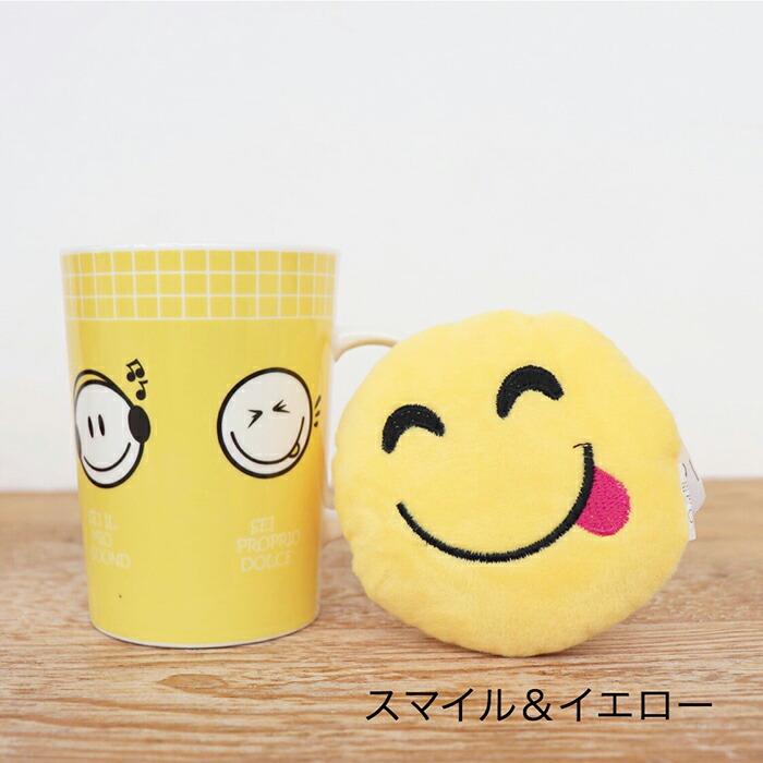 EMOTICON マグカップ ハート&レッド04