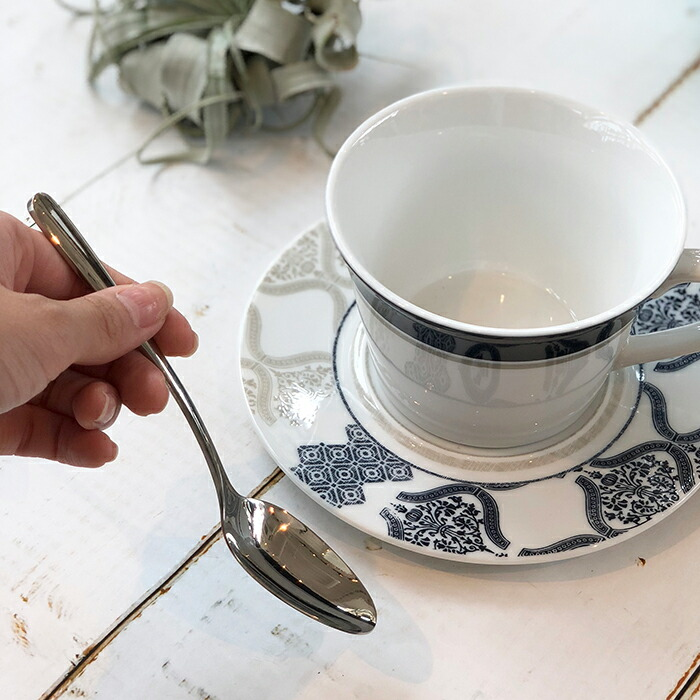 POSATE コーヒースプーン シルバー03