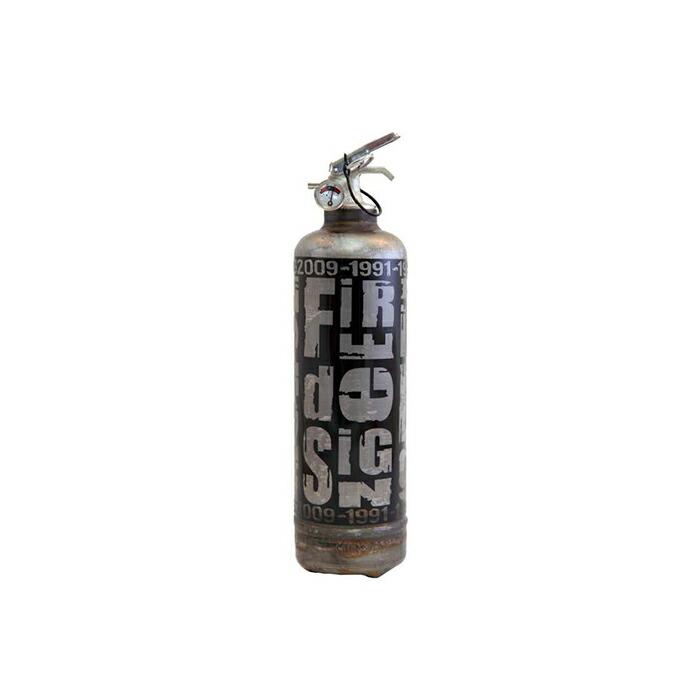消火器オブジェ グレー