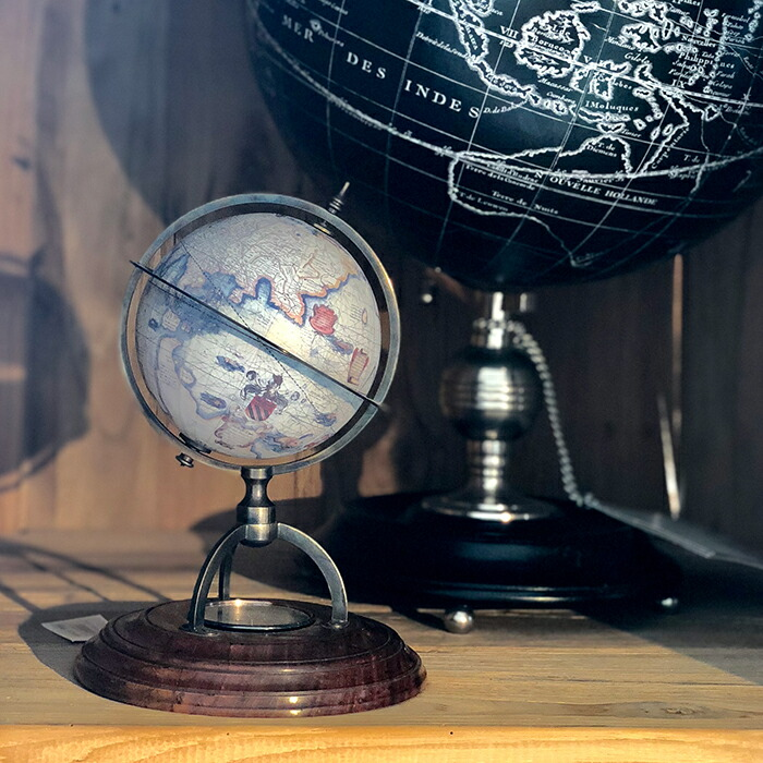 コンパス付きミニグローブ 地球儀07