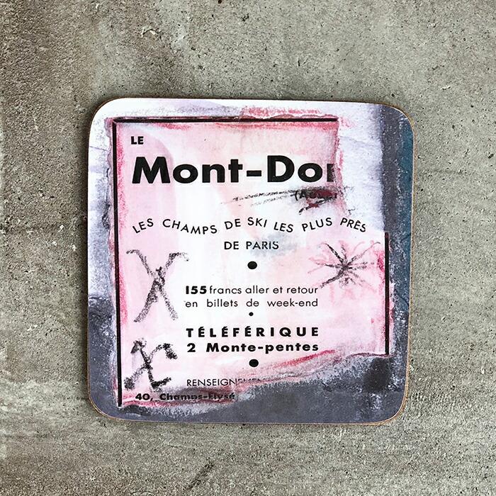 Mont-Dore コースター01