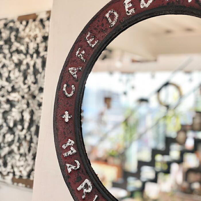 """ウォールミラー """"Café des Artistes""""03"""