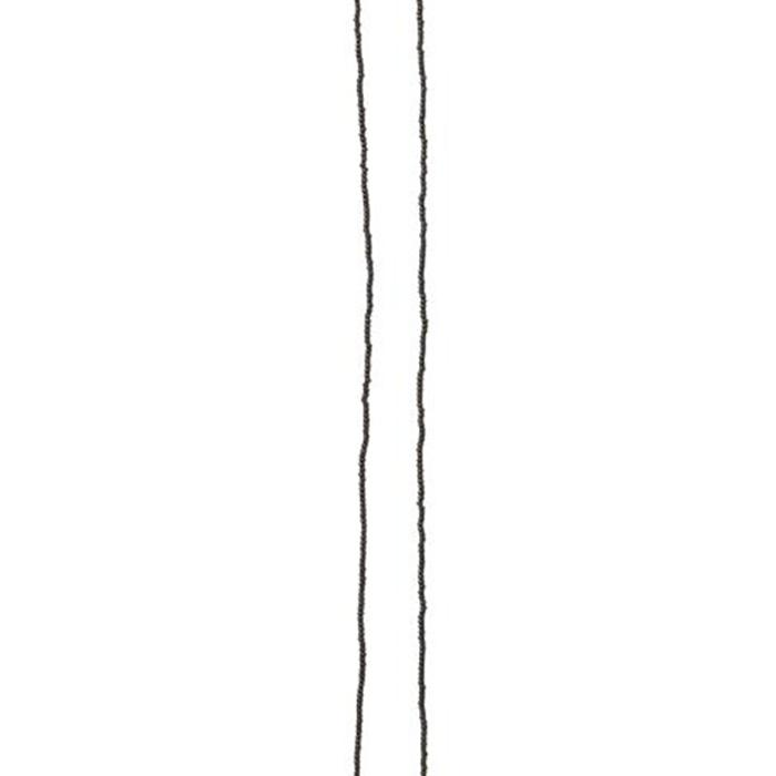 Porcupine Collection タッセルネックレス ゴールド&ブラック