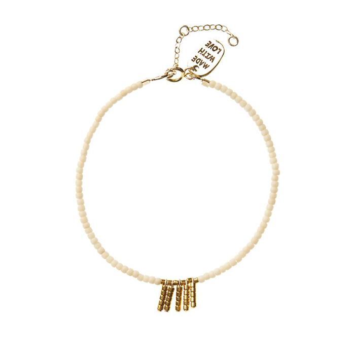Kisongo Collection 5バーブレスレット ピンク01