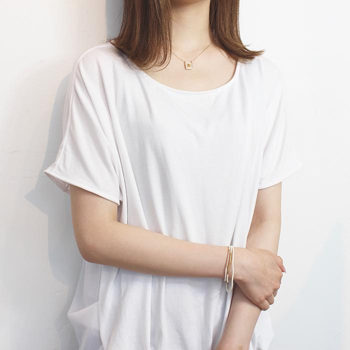 Kisongo Collection ブロックペンダントネックレス ピンク02