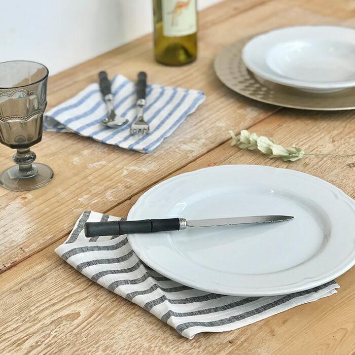 BAMBOO マットブラック ディナーナイフ01