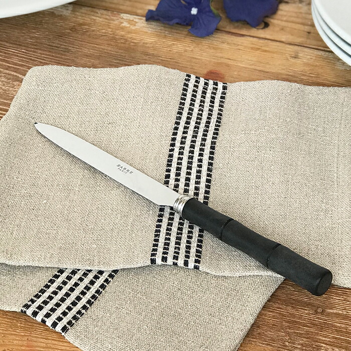 BAMBOO マットブラック ディナーナイフ06