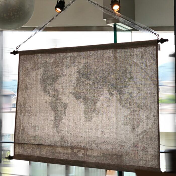 GROBETROTTER ワールドマップ M01