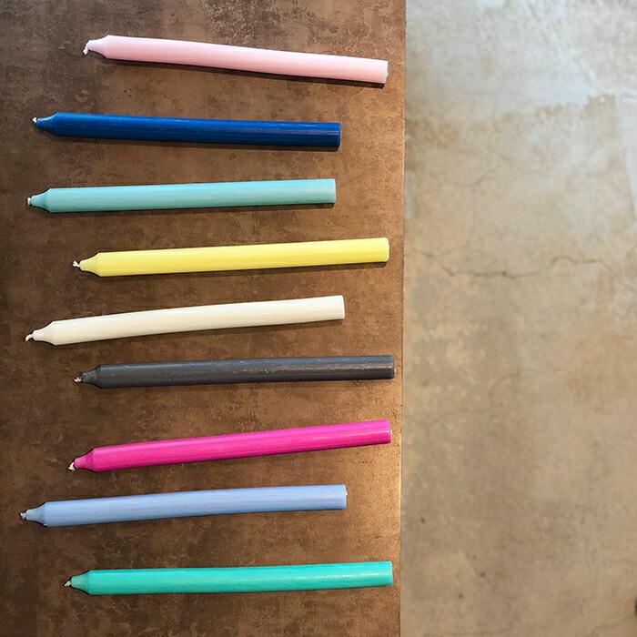 RUSTIC キャンドル 28cm ライトピンク