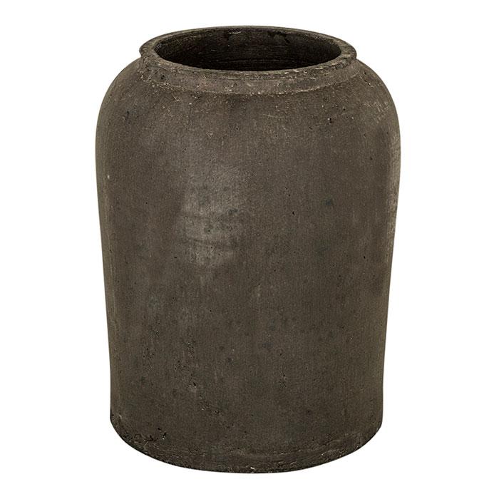 花びん 花瓶 花器 SPIRITUAL Straight セメント Lサイズ