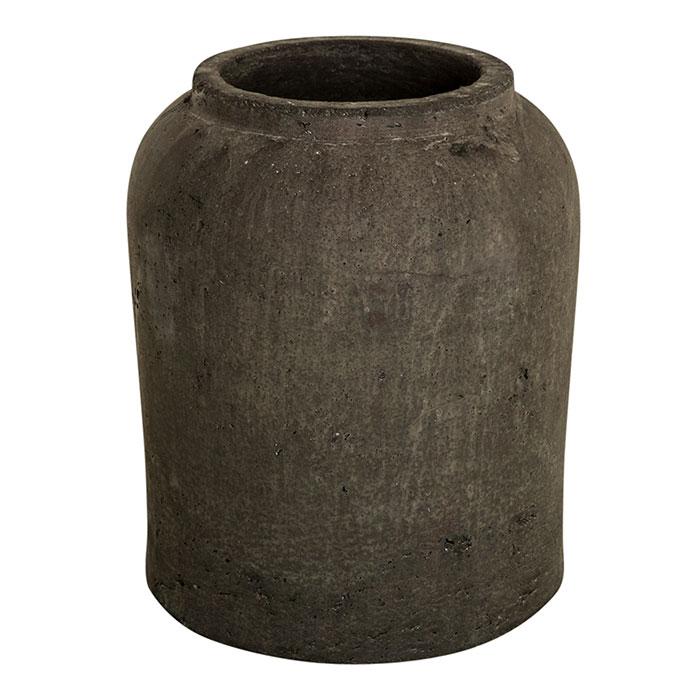 花びん 花瓶 花器 SPIRITUAL Straight セメント Mサイズ