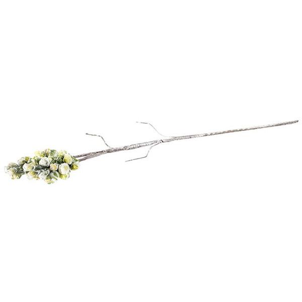 造花 ベリー L ホワイト