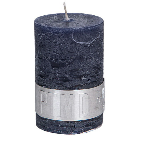 キャンドル ナイトブルー 蝋燭 4cm×4cm×6cm