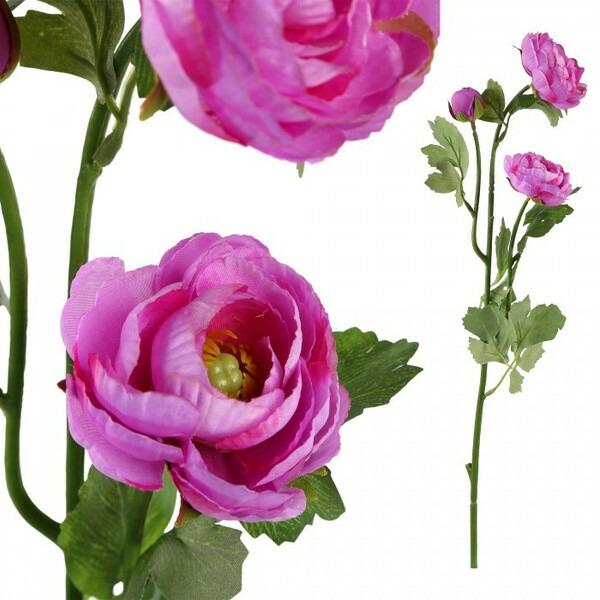 造花 キンポウゲ パープル Mサイズ