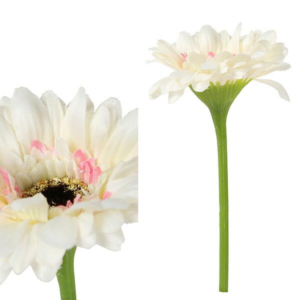 造花 ガーベラ ミニ ホワイト