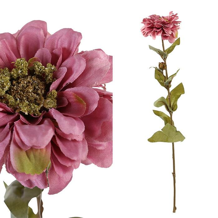 造花 ジニア ライトピンク