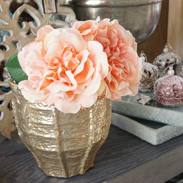 造花 バラ ピンク