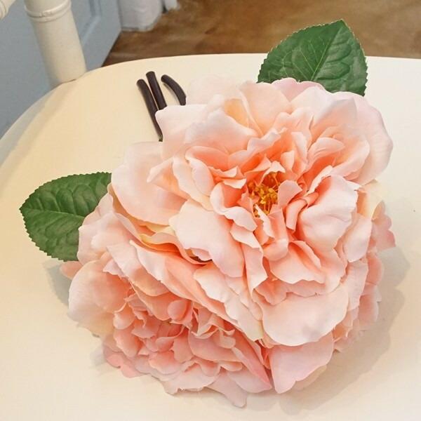 造花 バラ ピンク01