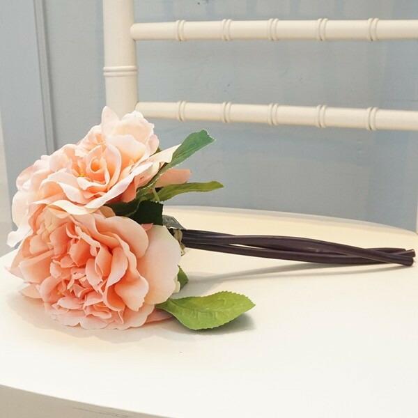 造花 バラ ピンク02