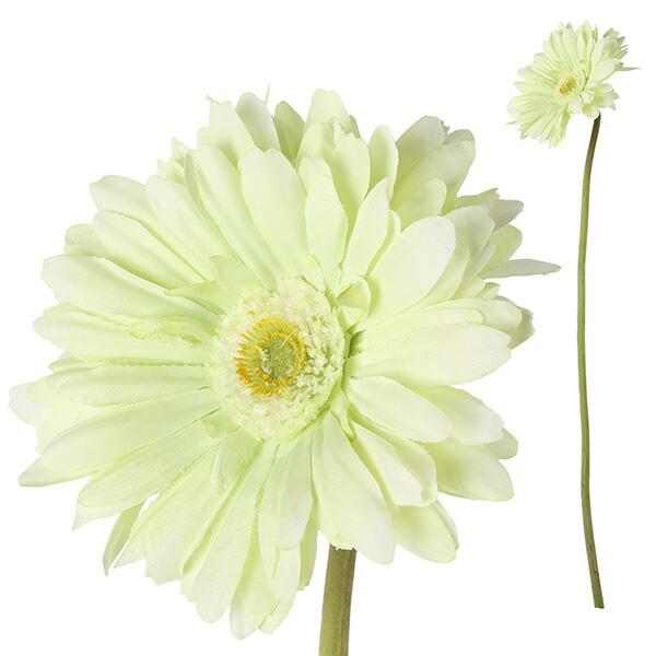 造花 ガーベラ ホワイト