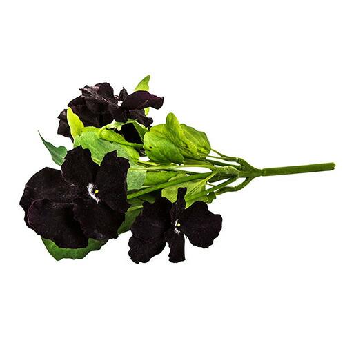 造花 ビオラ ブラック