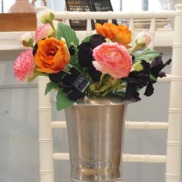 造花 ビオラ ブラック04