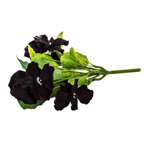 造花 ビオラ ブラック05